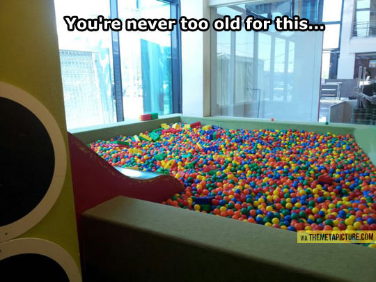 Never too old for this…