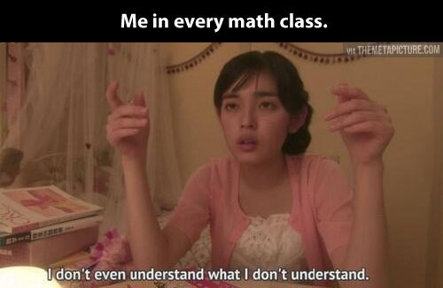 Math hurts…
