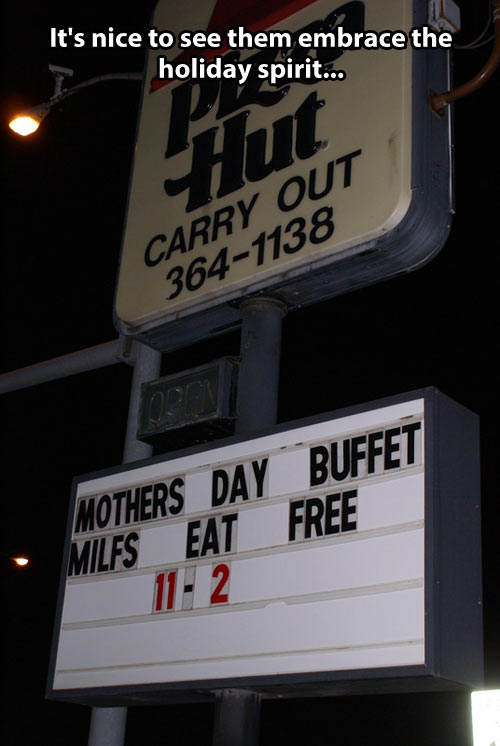 Mothers' day buffet…