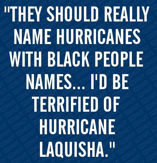 They should rename hurricanes…