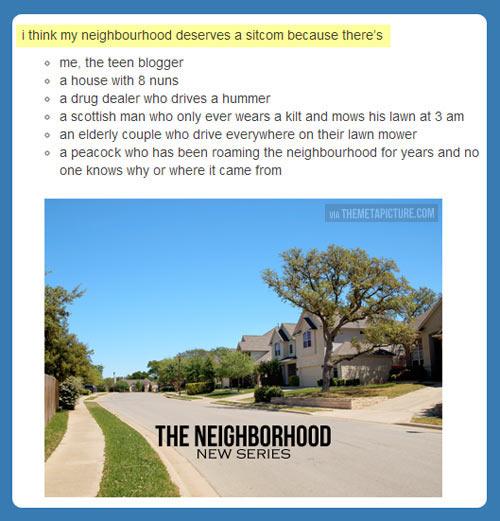 funny-neighborhood-sitcom-idea