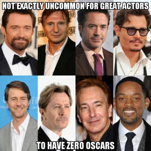 All this talk about Oscar snubs…