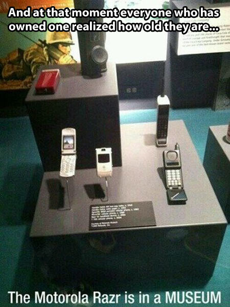 Ancient phones…