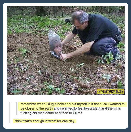 funny-plant-earth-hole-man