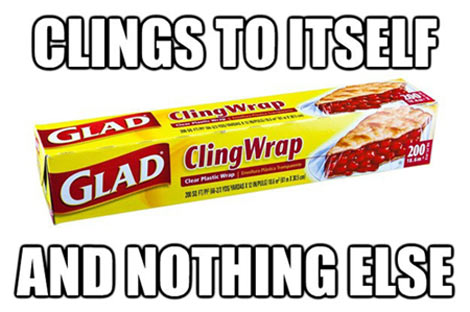 Plastic wrap logic…