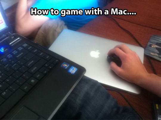 Play games with a Mac, you say?