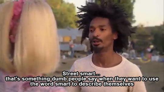 Street smart…