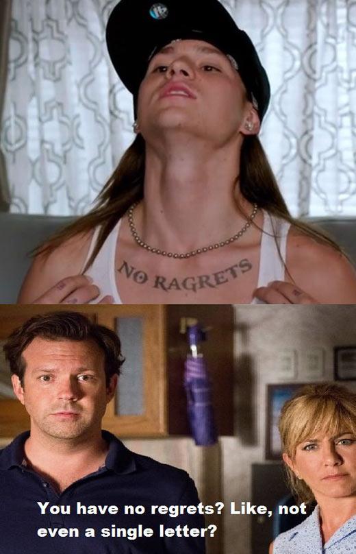 No regrets, are you sure?