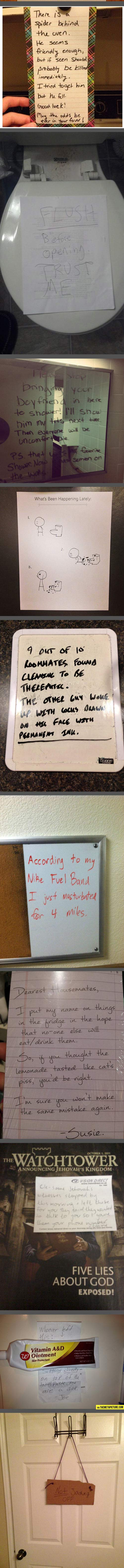 funny-roommate-notes-awkward