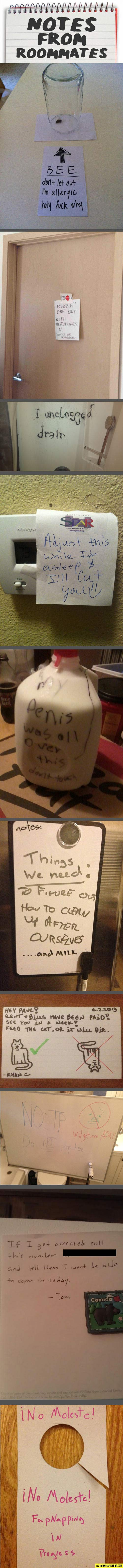 funny-roommate-notes-college