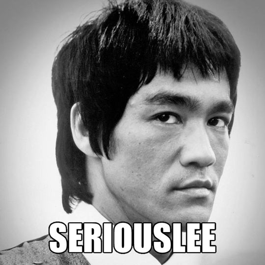 funny-serious-Bruce-Lee-face