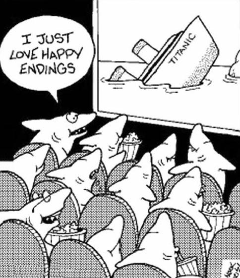 Happy endings…