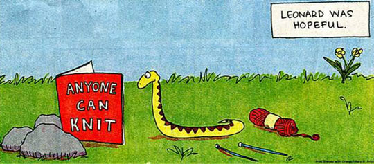 funny-snake-knitting-cartoon