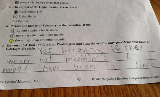 funny-test-Washington-president-slave