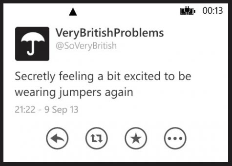 Very British problems…