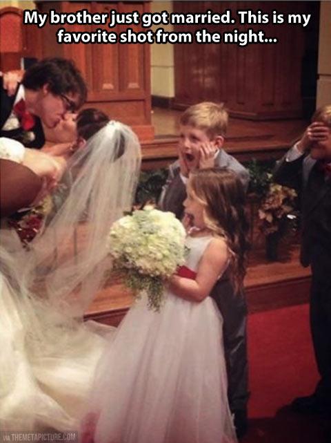 funny-wedding-kiss-kids-disgusted