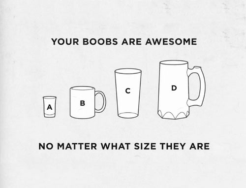 To women, from men…