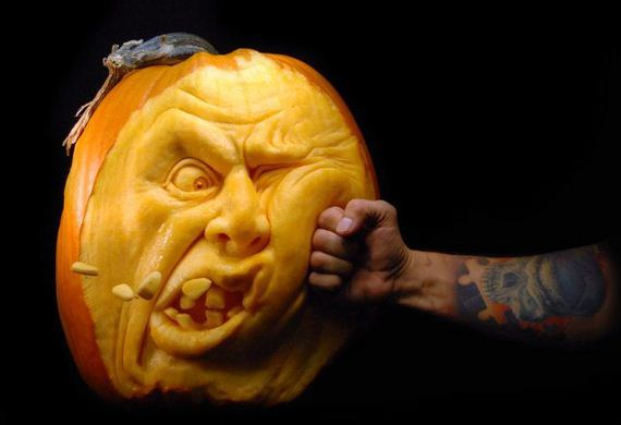 Artsy Pumpkin Carvings — 1
