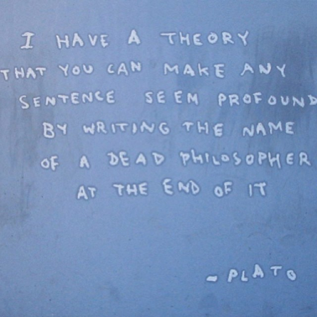 BANKSY IS PROFOUND.
