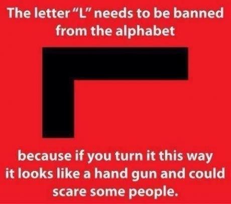 Blame the alphabet