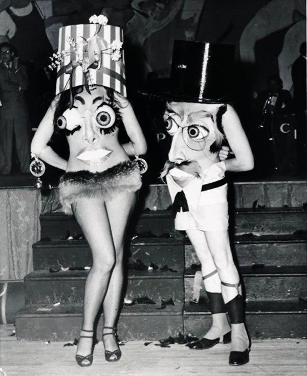 Creepy Vintage Halloween Costumes — 22