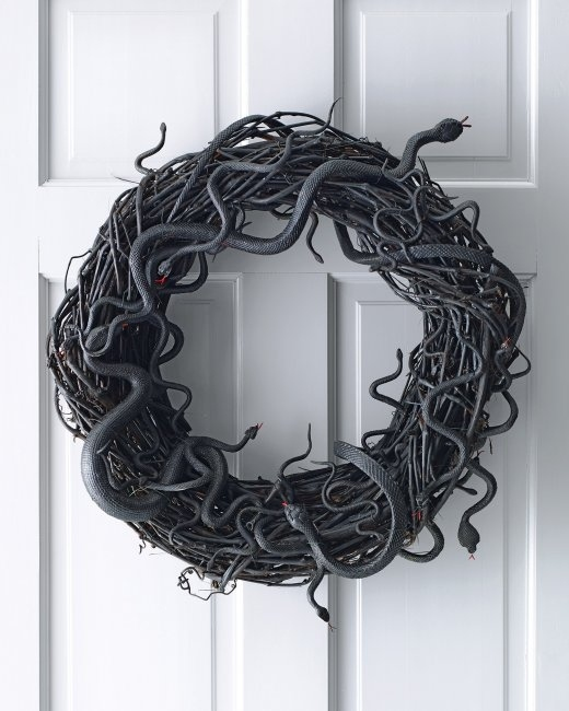 Expectation - Snake wreath.