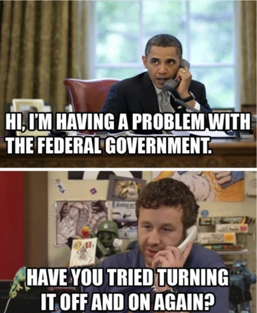 Funniest Government Shutdown Memes — 1