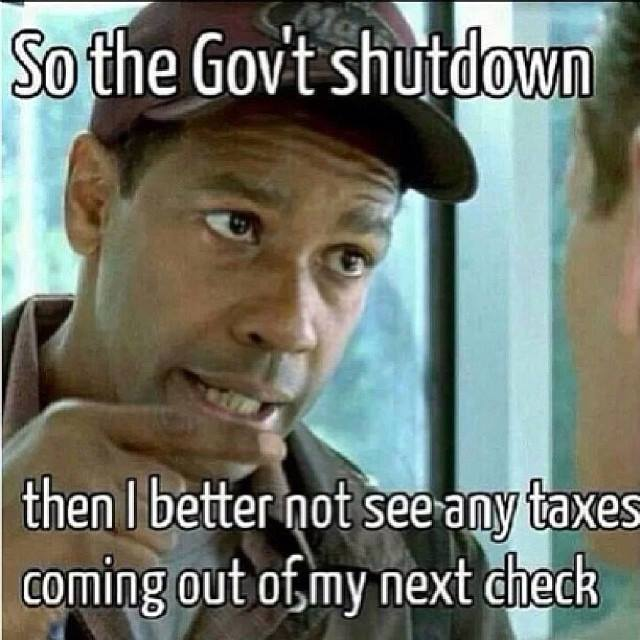 Funniest Government Shutdown Memes — 6