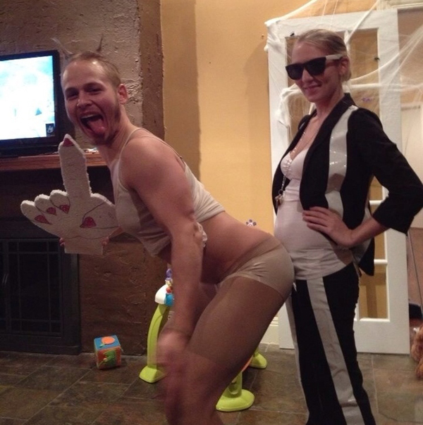 Funny Miley Cyrus Costumes — 4