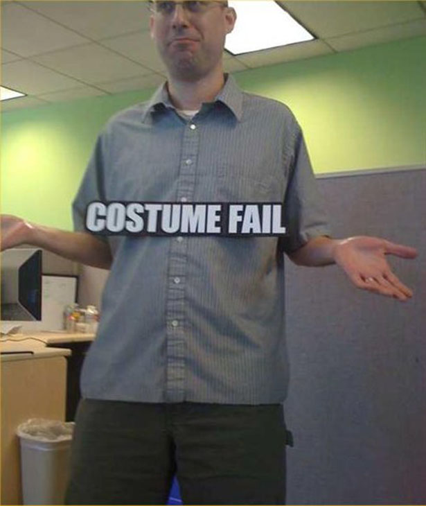 Halloween Costume Fails — 13