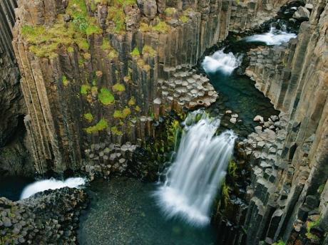 Litlanesfoss, Iceland. More like Rivendell!