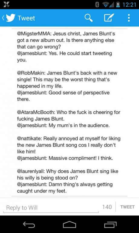 Love James blunt haha