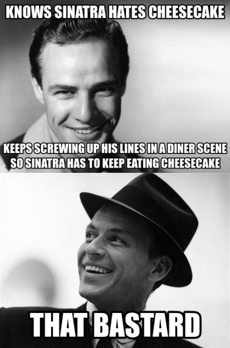 Marlon Brando You Beautiful Bastard You together with 510666045221869892 besides Search also Good Quotes For Fb Dp likewise Funny Jokes To Post On Instagram. on oscar birthday meme