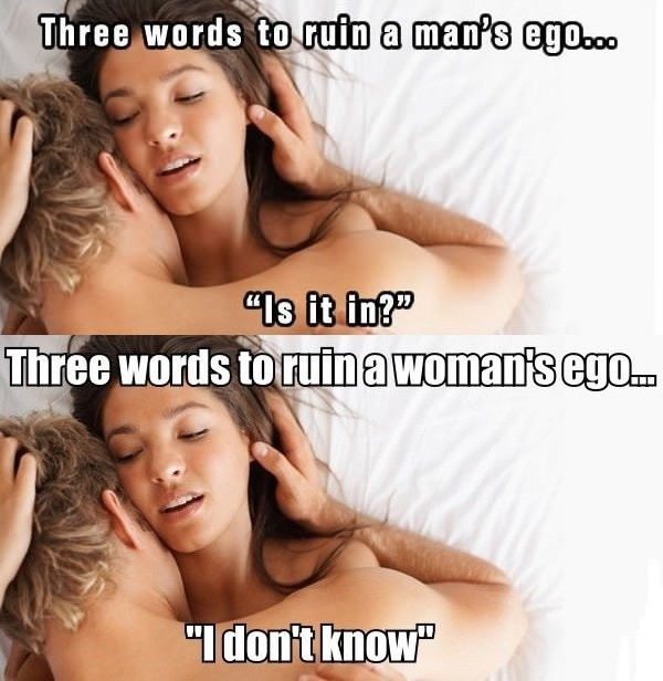 Men And Women Ego Problems...