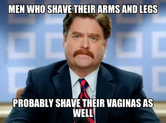 Men Who Shave More Than They Should…
