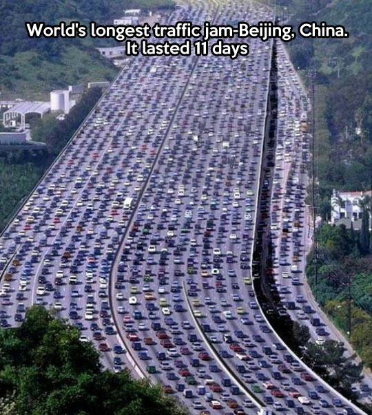 REMIND ME TO NEVER DRIVE IN CHINA.