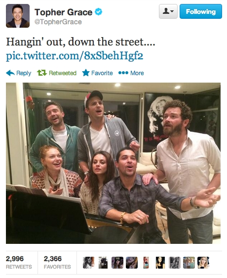 That '70s Show Cast Reunited. And It Feels So Good