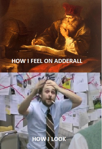The effects of adderall
