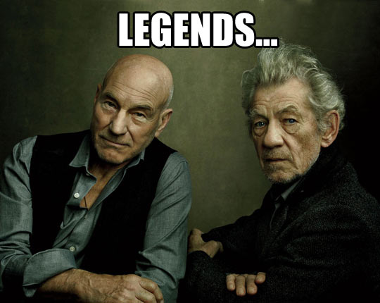 Legendary friendship…