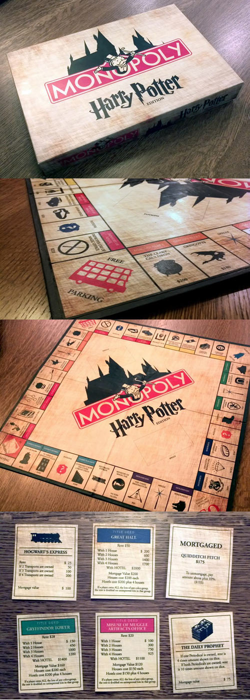 Amazing Harry Potter Monopoly...