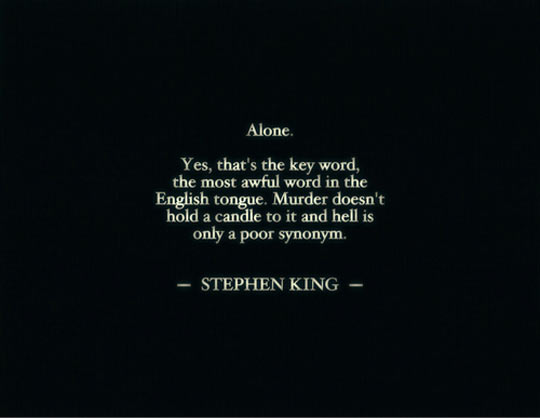cool-alone-Stephen-King-quote