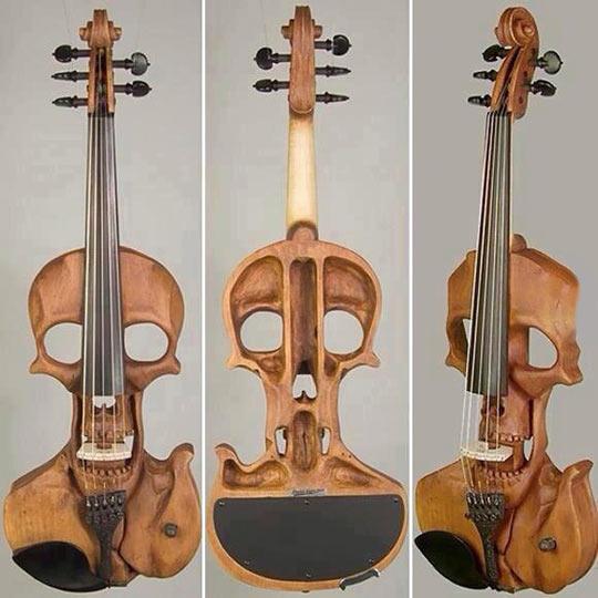 Classical Rock: Skull Violin…