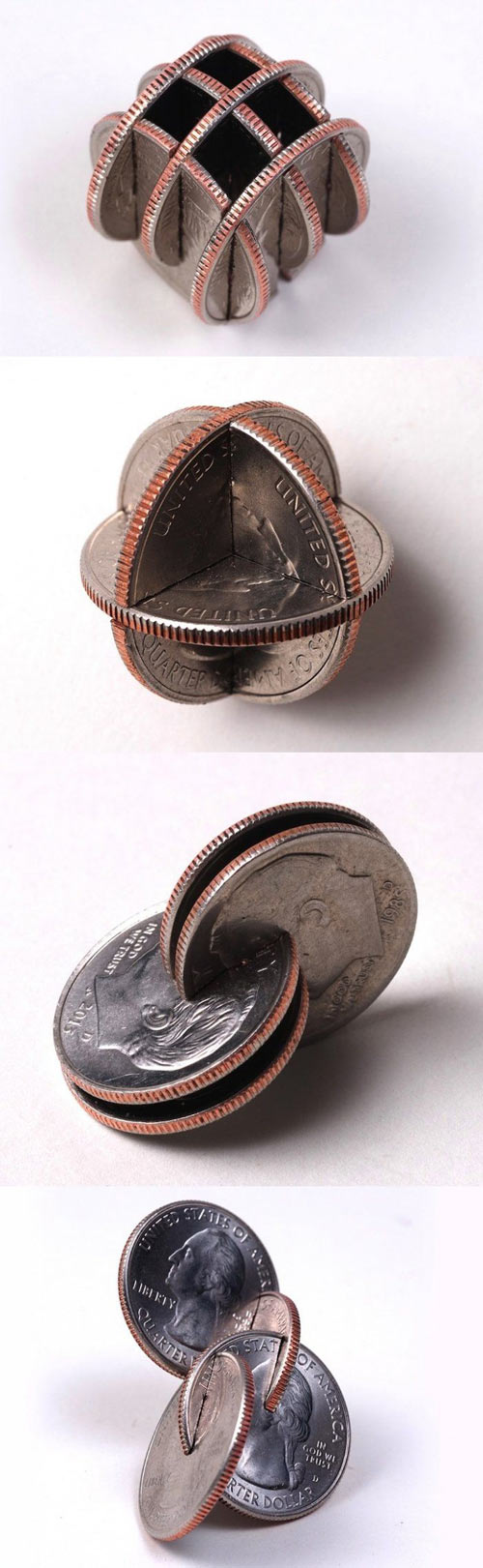 Art with coins...