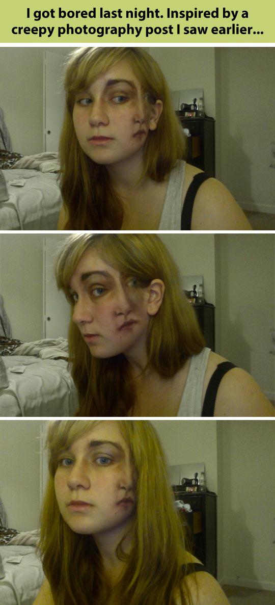 Incredible makeup idea…