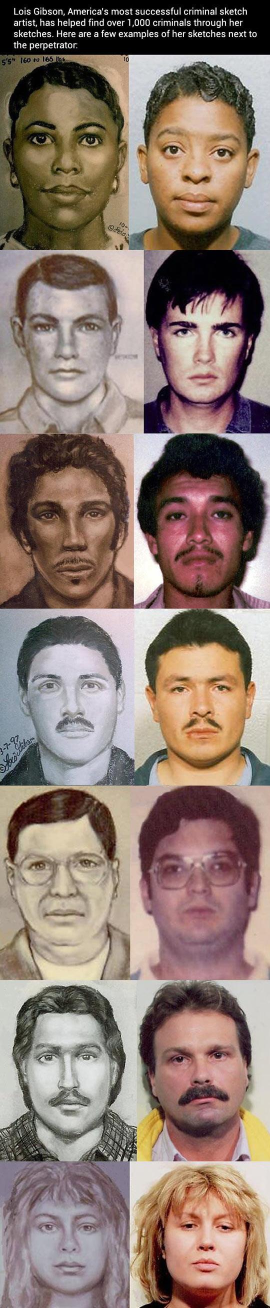 America's most successful criminal sketch artist…