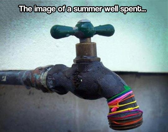A summer well spent…