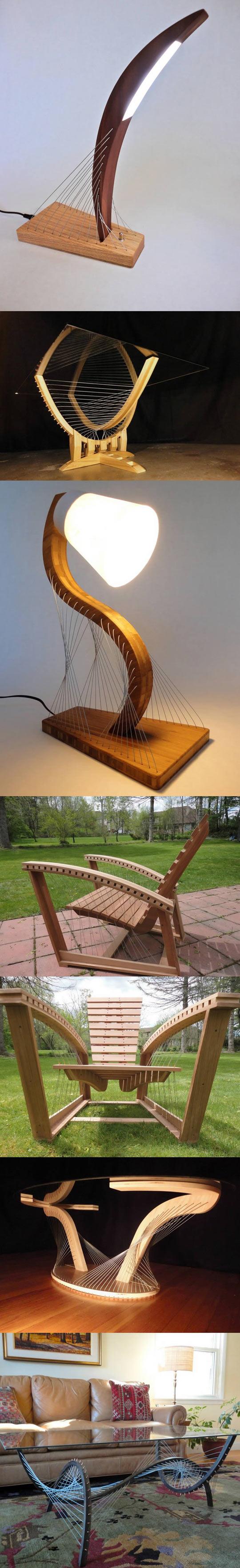 cool-furniture-tension-design-lamp