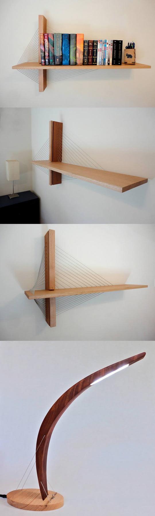 cool-furniture-tension-design-shelf