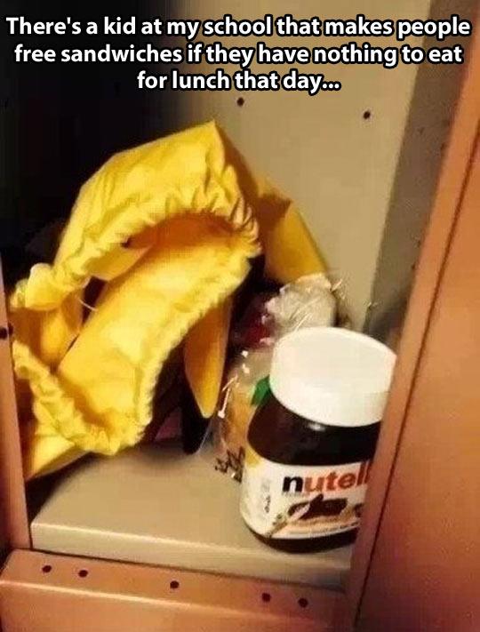 cool-kid-school-nutella-sandwich