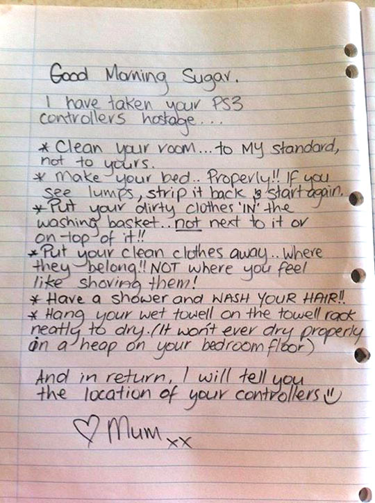This mom is a parenting expert…
